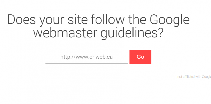 Respectez-vous les critères de Google en matière de SEO?