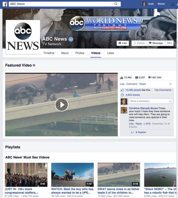Facebook vidéos Pages FaceTube