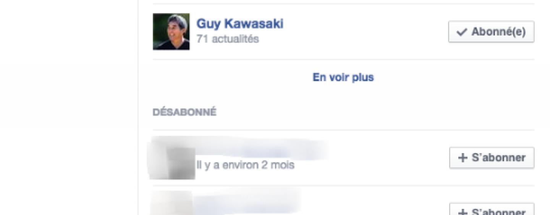 Facebook ajoute des paramètres au fil d'actualités