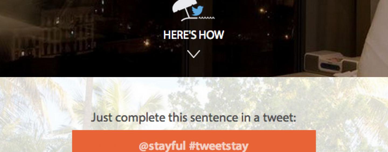 Réserver votre chambre d'hôtel avec Twitter