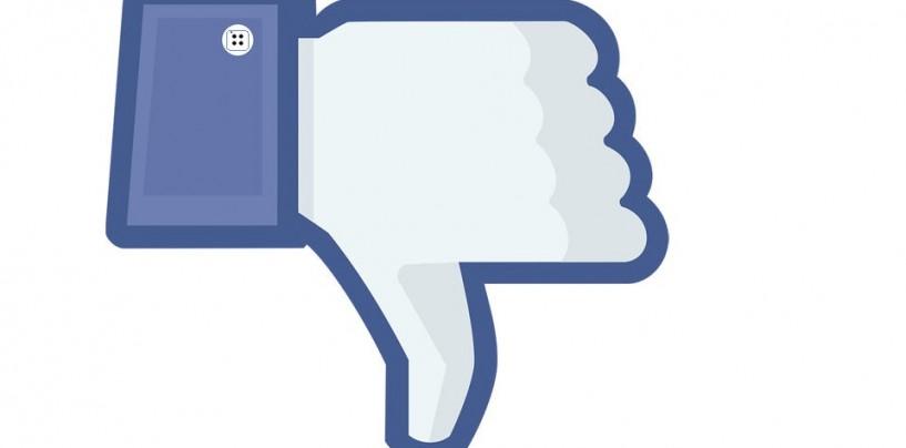 Facebook n'aime pas l'idée du bouton J'aime pas