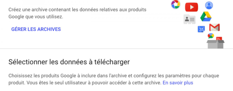 Qu'est-ce que Google Takeout